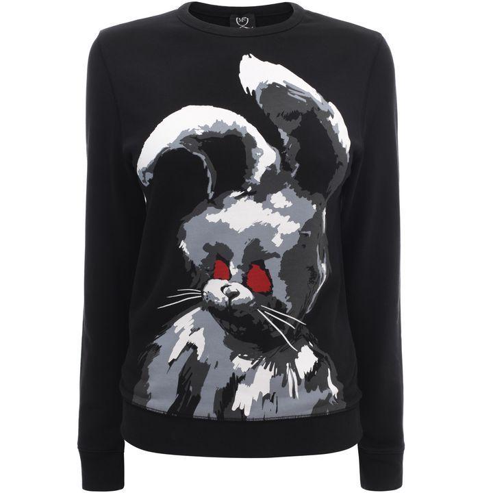 McQ Alexander McQueen|Ready-to-wear|Angry Bunny Sweatshirt