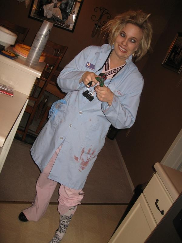 My Halloween Costume While In School DH Student Gone MAD Fun Hygiene