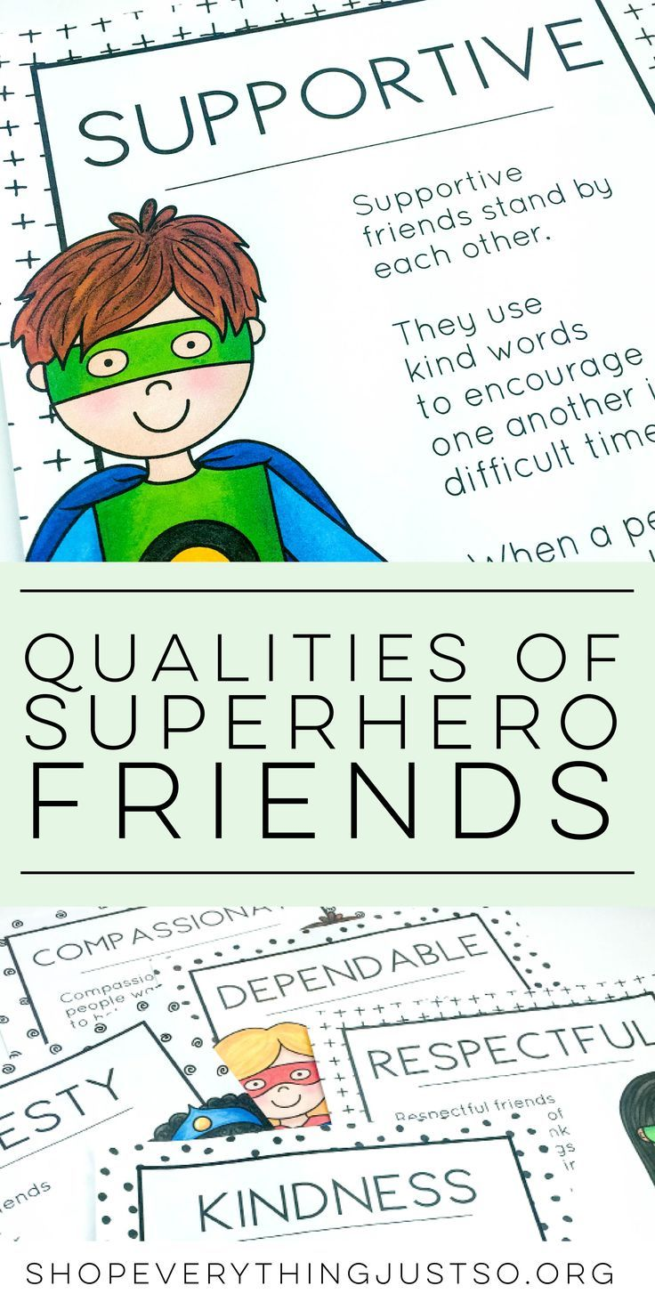 17 best ideas about teaching friendship friendship qualities of a superhero friend shopeverythingjustso org teach students