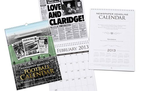 I Just Love It Personalised Leicester City Football Calendar Personalised Leicester City Football Calendar - Gift Details. This Leicester Football Calendar is a unique Calendar gift idea for a football fan. On each month of this Calendar we feature a newspaper http://www.MightGet.com/january-2017-11/i-just-love-it-personalised-leicester-city-football-calendar.asp