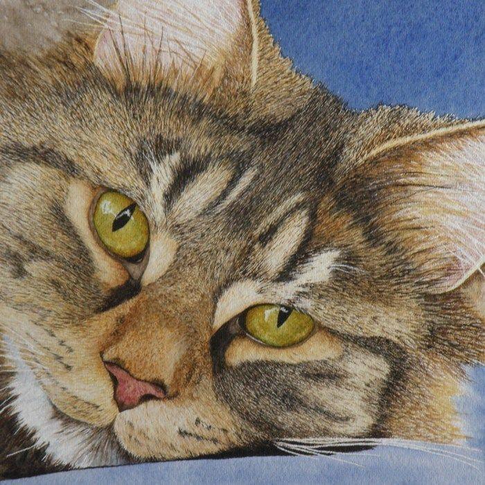 Vicki Greene.   Watercolor