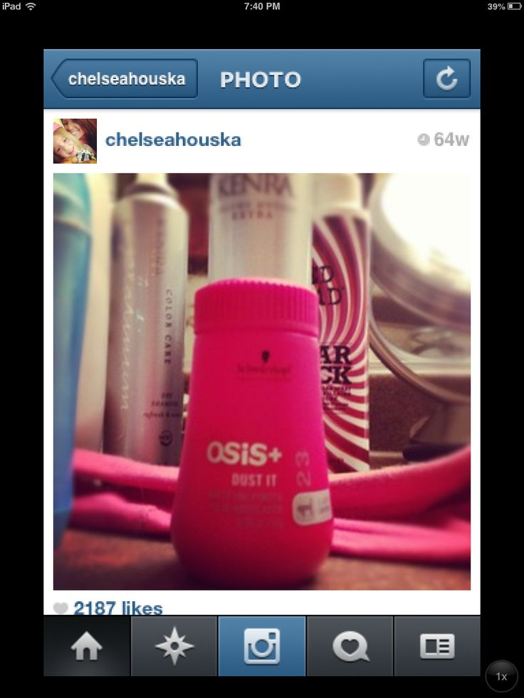 Used by Chelsea Houska from teen mom 2! It's a powder that gives your hair a lot of texture and volume <3