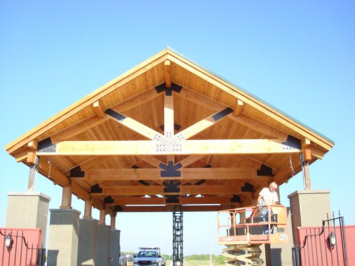 Best Image Result For Laminated Wood Roof Trusses Wood Truss 400 x 300