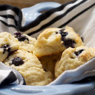 Blueberry Sour Cream Drop Biscuits | Breads/Biscuits/Muffins | Pinter ...