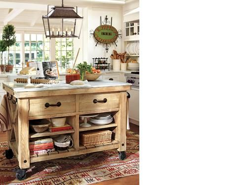 Hamilton Reclaimed Wood Marble Top Kitchen Table Large Pottery Barn On Imgfave