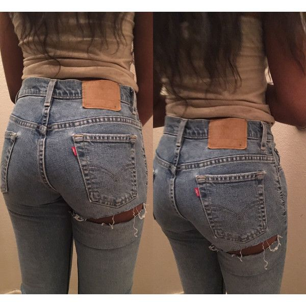 Sale All Sizes Levis brand blue jeans high waist distressed rip denim... ($70) via Polyvore featuring jeans, levi skinny jeans, high-waisted skinny jeans, blue ripped skinny jeans, ripped skinny jeans and high rise straight leg jeans