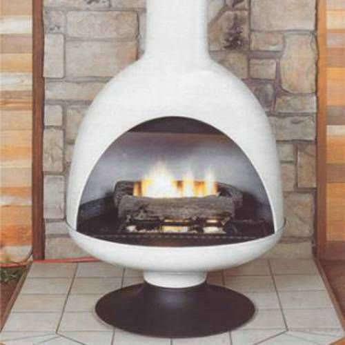 Malm Freestanding Gas Fireplace 500 x 500