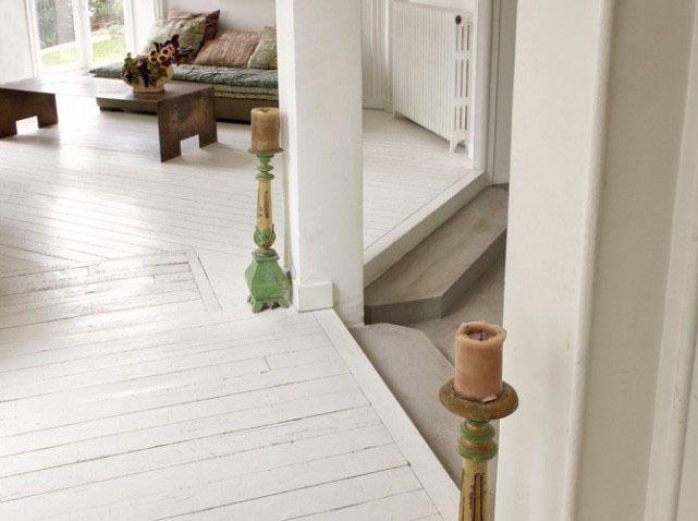 les 25 meilleures id es concernant planchers en bois massif peints sur pinterest peindre des. Black Bedroom Furniture Sets. Home Design Ideas