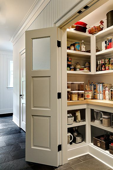 Pantry - NOW HERE'S ONE THAT DOESN'T LOOK SO CHEAP-Y, YET, COULD IT BE MORE EFFICIENT?