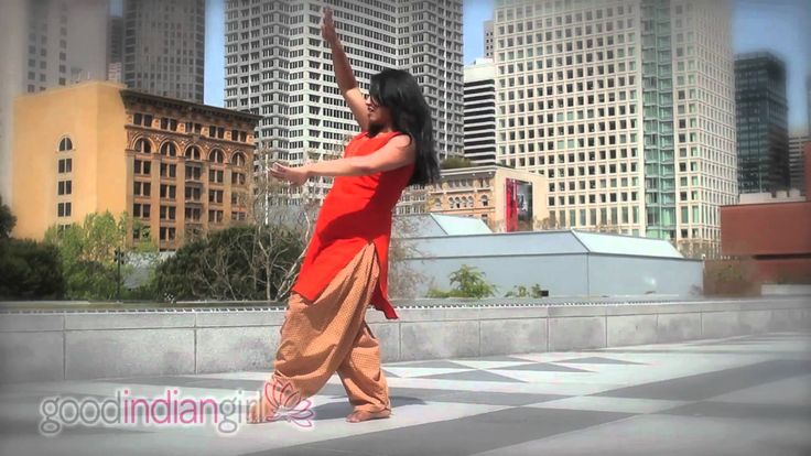 Some of my bollywood dance moves were inspired by her. She shows you a few easy and popular Indian moves so you should have no problems learning and adding them into your own choreo!