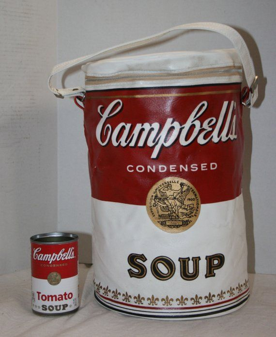 Sale Campbell S Soup Tote Bag 60s Pop Art Andy Warhol Campbell S Soup Cans Campbell Soup Pop Art