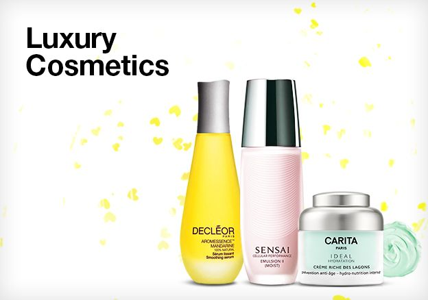 Luxury Cosmetics: Carita, Decleor, Kanebo