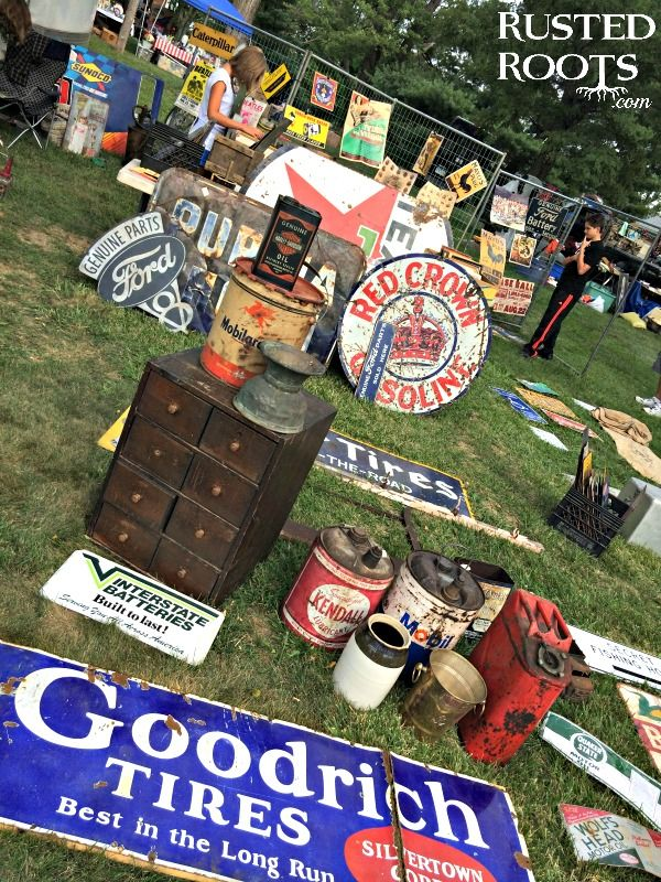 The World's Largest Yard Sale {Day One: Ohio} Florence kentucky