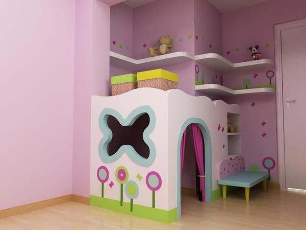 ideas for children's small attic playrooms - 23 best images about Playroom Ideas on Pinterest