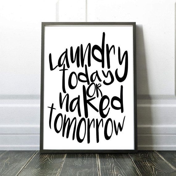 laundry sign  laundry sign decor  laundry room sign