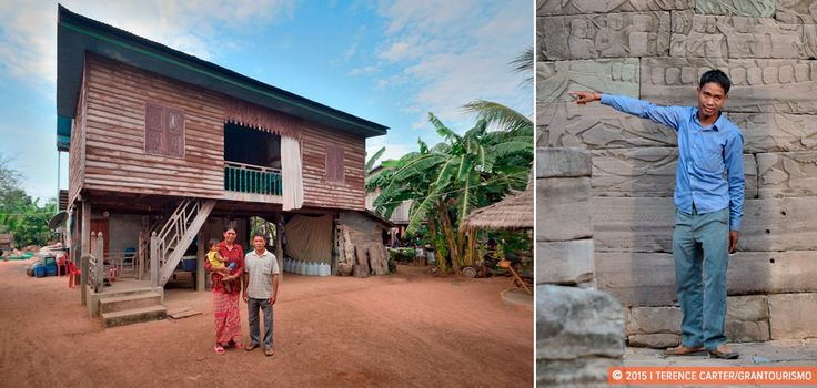 Banteay Chhmar Homestay, Living Like Locals Amid Ruins in Rural Cambodia.
