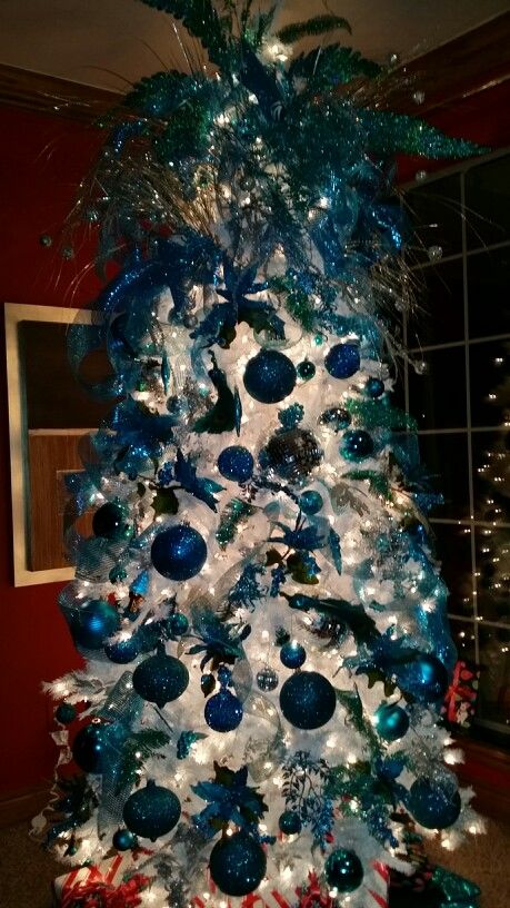 4013 best Christmas Trees images on Pinterest Xmas trees - peacock christmas decorations