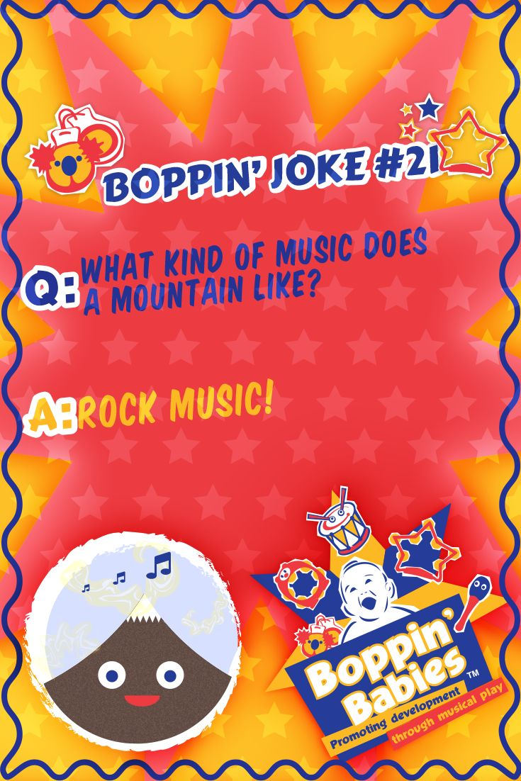 Q. What kind of music does a mountain like?  A. Rock music!