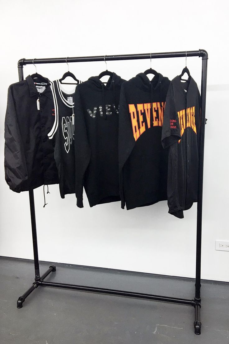 A selection of Summer Sixteen merch available at Drake's pop-up shop in New York City