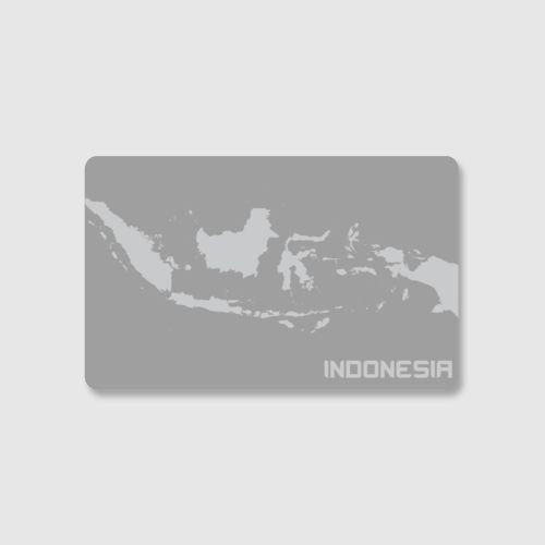 Peta Indonesia dari Tees.co.id oleh Wirocker Clothing