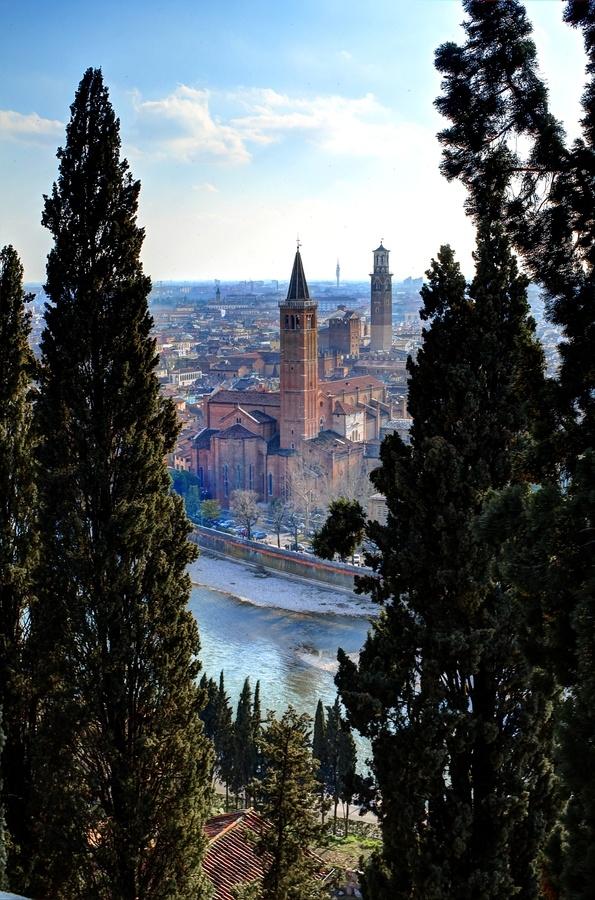 "Verona, Veneto, Italy--""In fair Verona, where we lay our scene..."""