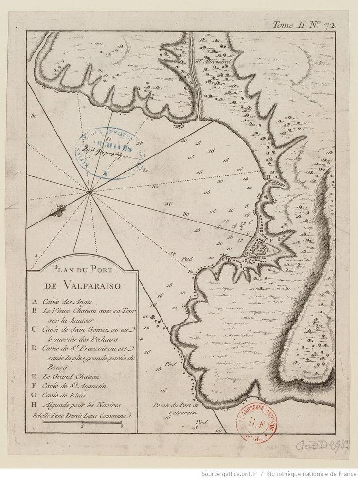 Plan du port de Valparaiso / [par J.N. Bellin]