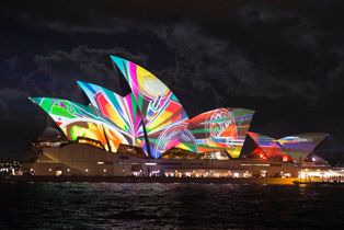 360 Tour of Vivid Sydney - 23May to 9June