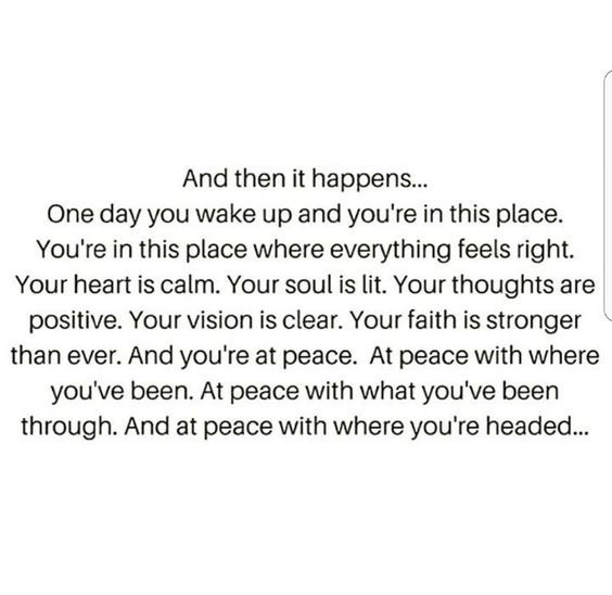 & then it happens You realize that even though you felt all of that you never actually opened your eyes, and when you do...