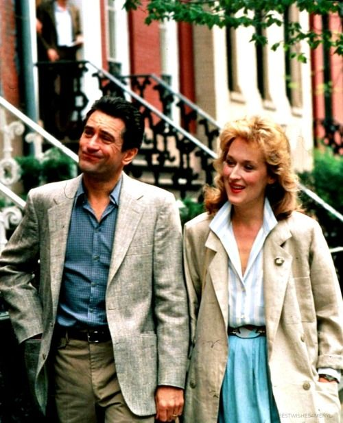 "With Robert De Niro, ""Falling in Love"" (1984)"