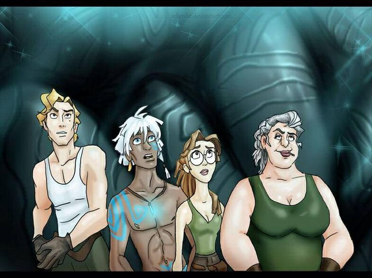 17 Best images about Atlantis: The Lost Empire on ...