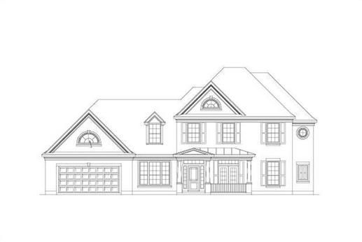 Home Plan #99458 is a two story traditional brick home with 3593 total living square feet. It also has 5 bedrooms and 3 bathrooms as well as a straight in front load 3 car garage. This house plan also has 2 living areas and 2 dining areas along with many special features, some of them include a bonus room, a master with siting area, a portico, a shop, a home office, an optional pool and bath, a seperate master closet, and a theater/ media