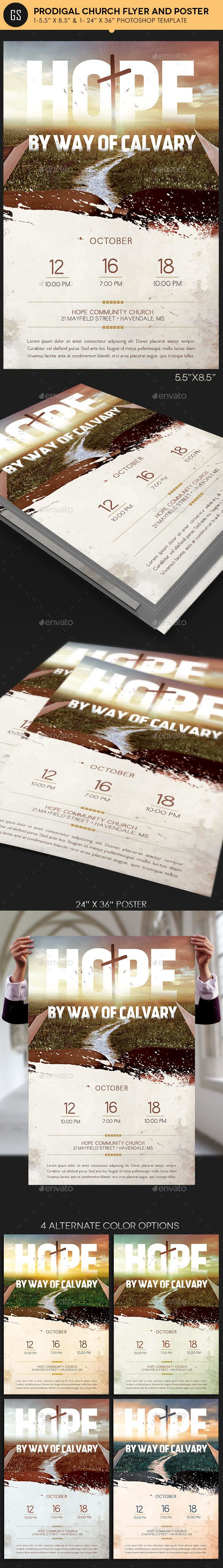 Hope Church Flyer Poster Template