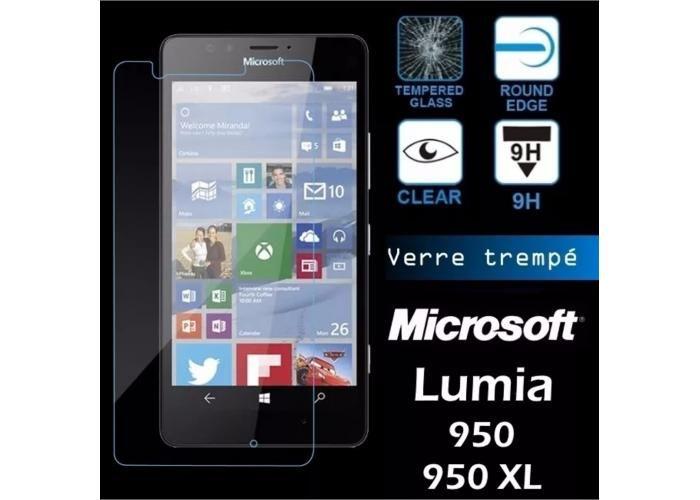 Guili Guili Fundas y Accesorios Para Smartphone: Mica Cristal Templado Lumia N950 Xl Gorilla Glass - Kichink!