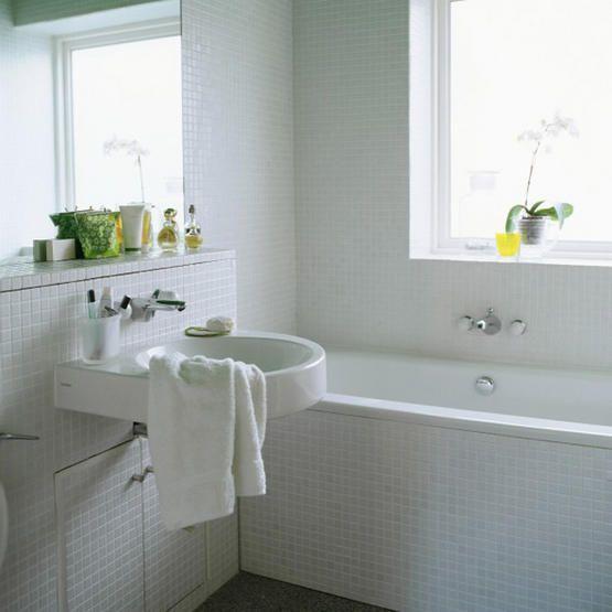 Hjemmets gleder: Lyse bad er fint