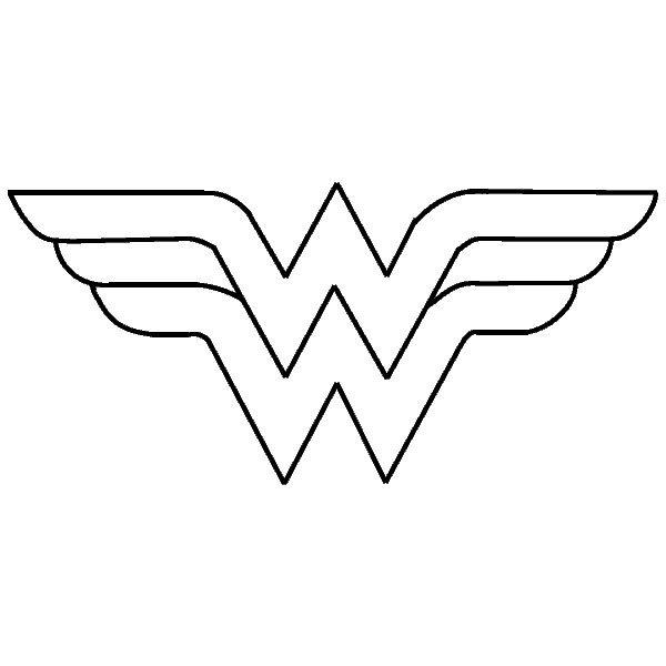 25 melhores ideias de simbolo mulher maravilha no superwoman logo images super woman logo with msw inside it