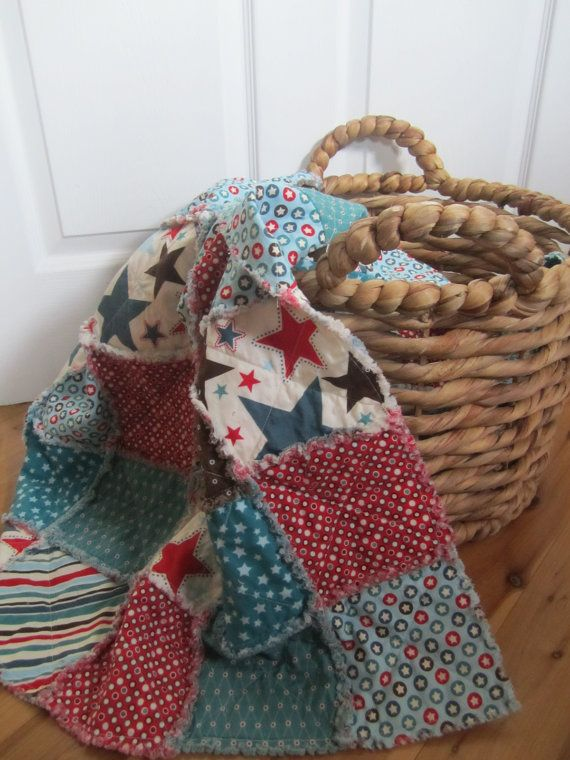 kids americana quilt~Would look great with Stars and Stripes:)