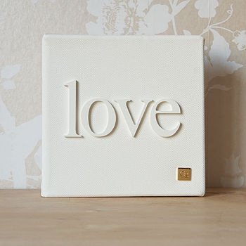 Very cute idea!Canvas Ideas, Crafts Ideas, Canvas Prints, Wood Letters, Living Room, Painting White, Wooden Letters, Words Canvas, Diy Projects