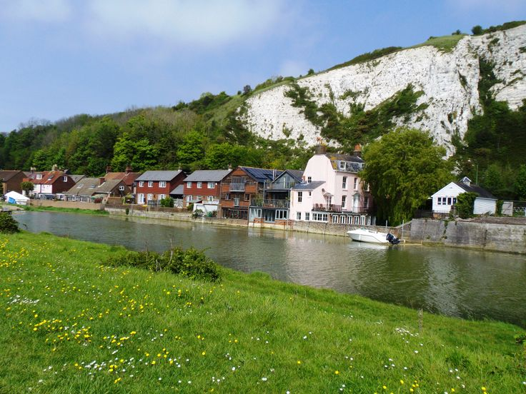 The River Ouse at Lewes, Sussex