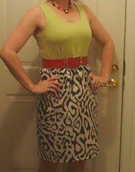 30 Minute Tank Dress: Idea, Easy Dress