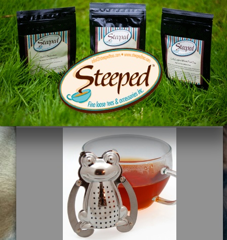 Steeped Tea-they are a Canadian company.  Love the quality of this product.