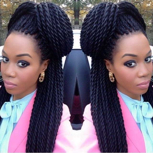 Senegalese Twists, Perfect Hair, Perfect Make Up
