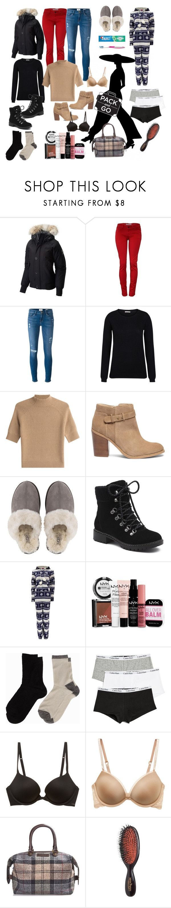 """Let's get outta here..,,"" by vettec ❤ liked on Polyvore featuring SOREL, Frame, Theory, Sole Society, UGG, G.H. Bass & Co., Boohoo, NYX, Oral-B and Pieces"