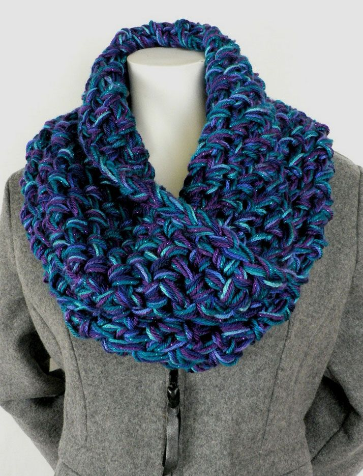 Hour and a Half Crochet Cowl, free pattern