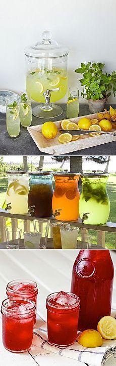 Лучшие рецепты лимонада в домашних условиях - 90 Фото оформления стола.
