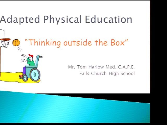 adapted physical education game ideas