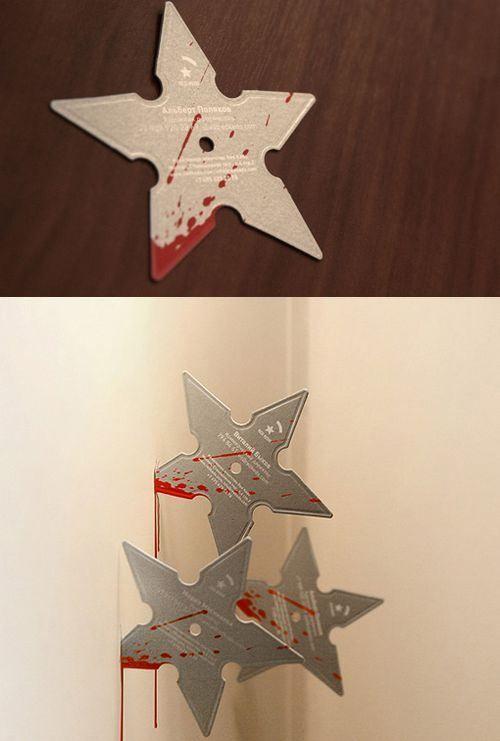 Ninja stars Cards