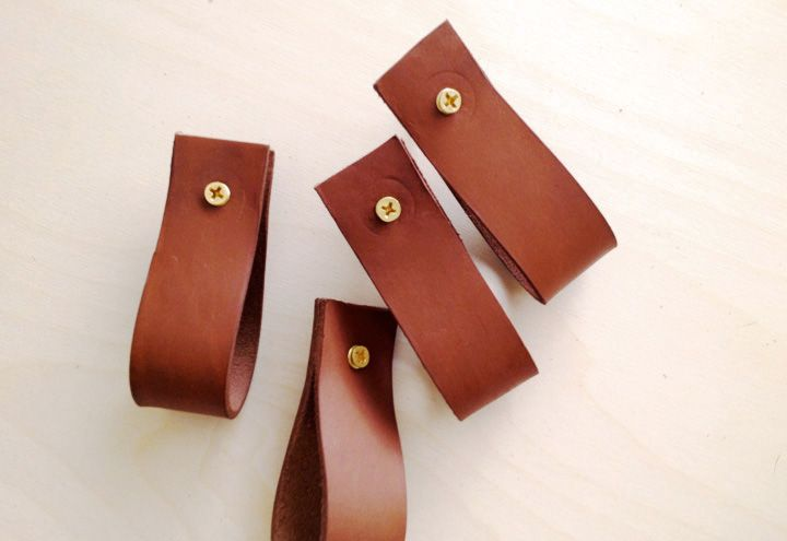 Image result for TAN LEATHER HANDLES diy