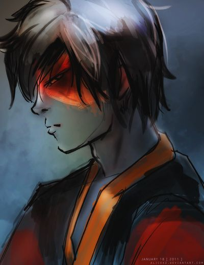 """""""You will learn respect, and suffering will be your teacher."""" """"Zuko"""" by alicexz on deviantART."""