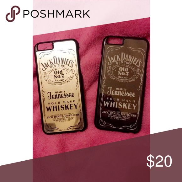 Jack Daniels IPhone 6 Case. Silver and Black. Brand New Case. SOLD SEPARATELY. Offers Welcome. No Trade. Other