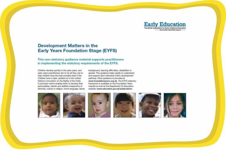 Development Matters | Early Education
